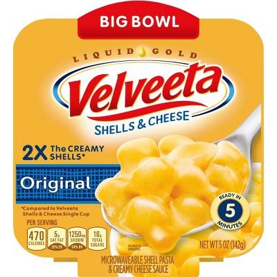 Velveeta Shells & Cheese Big Bowl Original - 5oz