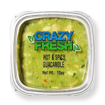 Crazy Fresh Hot & Spicy Guacamole - 10oz