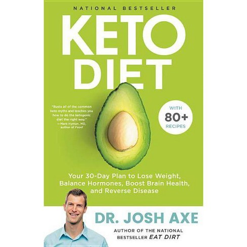 Keto Diet - by  Josh Axe (Hardcover) - image 1 of 1