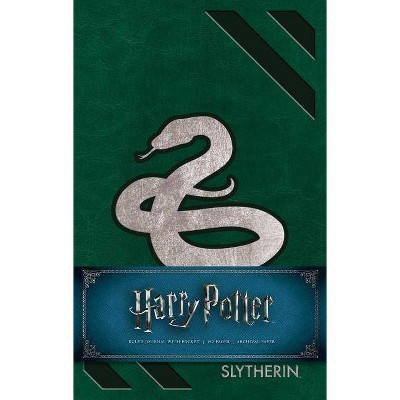 Harry Potter - Slytherin Hardcover Ruled Journal - by Insight Editions