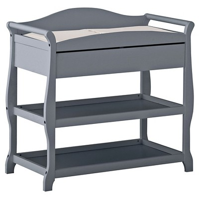 Storkcraft Aspen Changing Table with Drawer - Gray