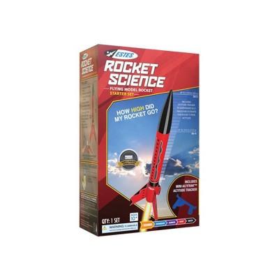 Rocket Science Flying Model Rocket Starter Set