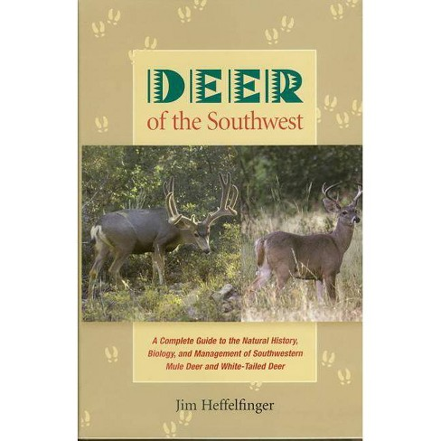 Deer of the Southwest - by  Jim Heffelfinger (Hardcover) - image 1 of 1