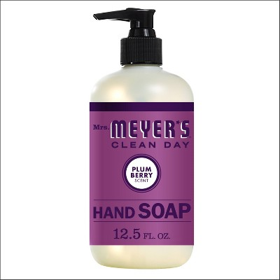 Mrs. Meyer's Clean Day Hand Soap Plum - 12.5 fl oz