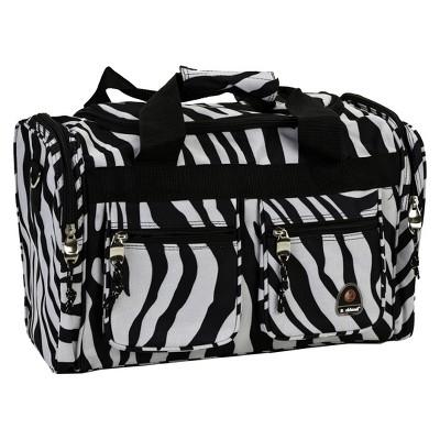 Rockland 19  Duffel Bag - Zebra
