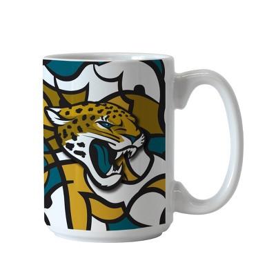 NFLxFIT Jacksonville Jaguars 15oz Accent Coffee Mug