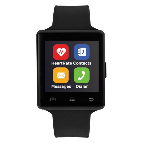 iTouch Air Pulse Smartwatch - Black/Silver - image 1 of 3
