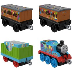 Fisher-Price Thomas & Friends Celebration Time Push Along 4pk