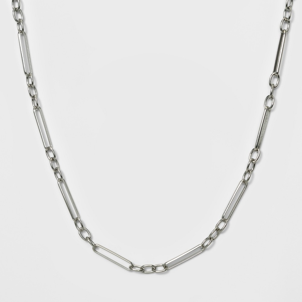 Short Link Necklace - A New Day Silver, Gold
