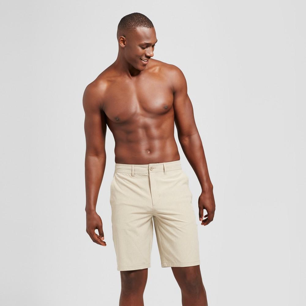 Men's 10.5 Rotary Hybrid Shorts - Goodfellow & Co Khaki (Green) 38