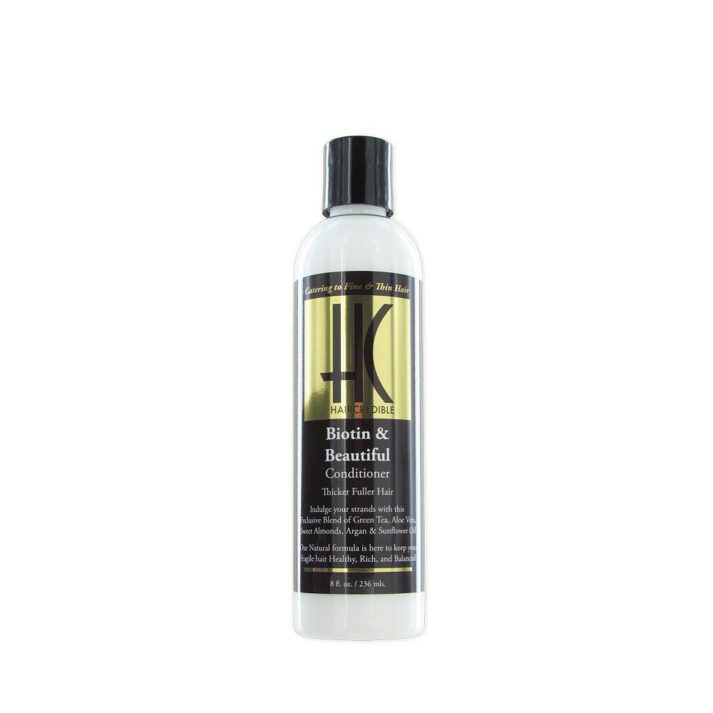 Image of Haircredible Biotin & Beautiful Hair Conditioner - 8 fl oz