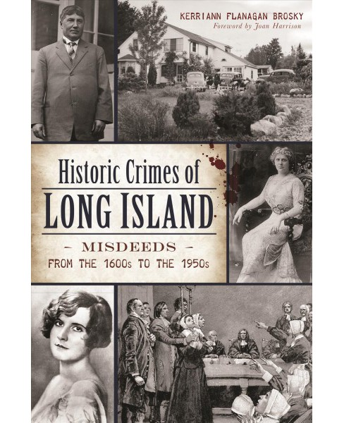 Historic Crimes of Long Island : Misdeeds from the 1600s to the 1950s (Paperback) (Kerriann Flanagan - image 1 of 1