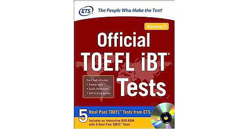 Official TOEFL iBT Tests (Vol 2) (Paperback) - image 1 of 1