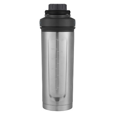 Contigo 24oz Shake and Go Fit Thermalock Hydration Bottle Silver
