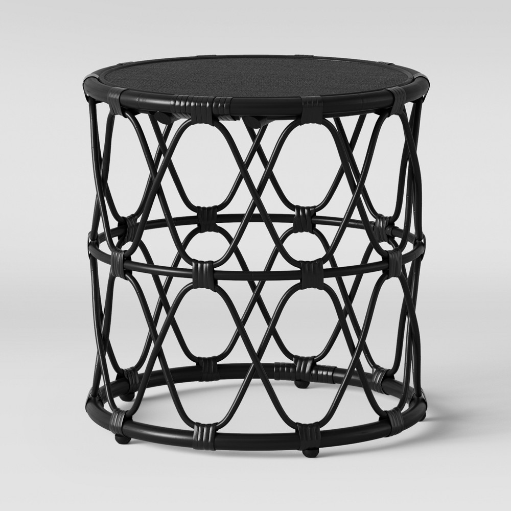 Jewel Round Side Table Black - Opalhouse was $89.99 now $44.99 (50.0% off)
