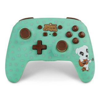 PowerA Enhanced Wireless Controller for Nintendo Switch - Animal Crossing K.K. Slider