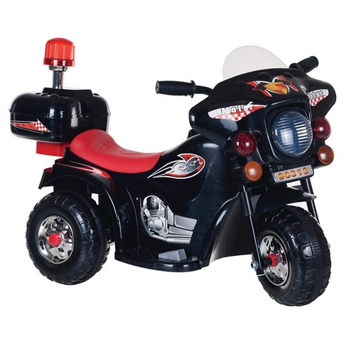 Lil' Rider SuperSport Three Wheeled Motorcycle Ride-on - Black - image 1 of 1