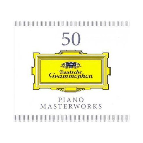 Various - 50 Piano Masterworks (CD) - image 1 of 1