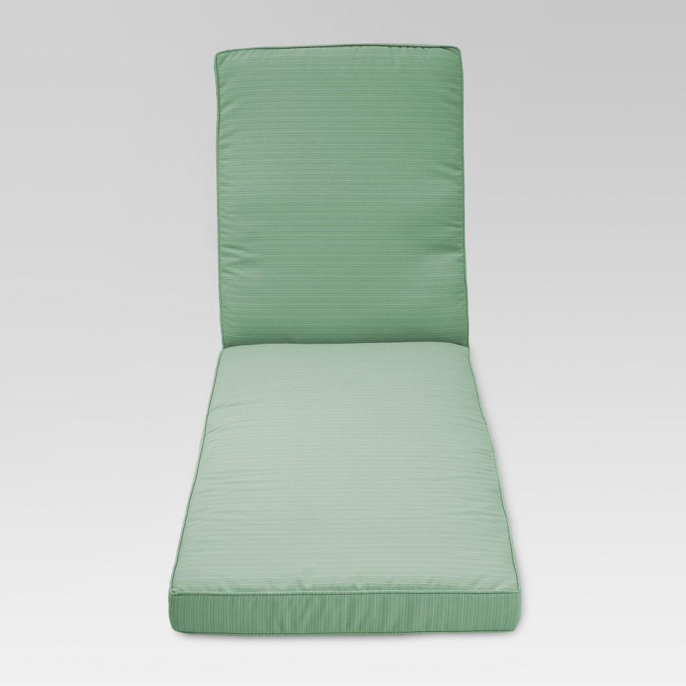 Belvedere Replacement Outdoor Chaise Lounge Cushion - Seafoam - Threshold