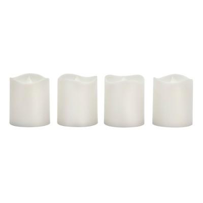 Room Essentials™ 4 Pack LED Votives - White