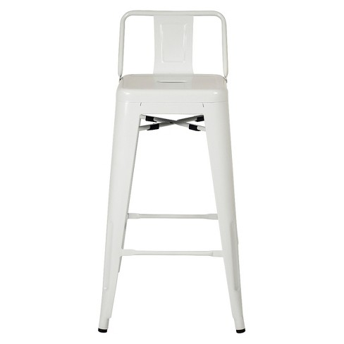 Rondo Barstool - White (Set Of 2) - Aeon - image 1 of 3