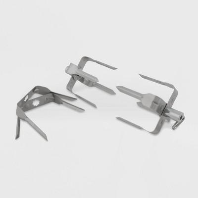 Broil King Rotisserie Mega Forks Set Stainless Steel