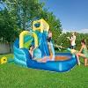 H2OGO! Hydrostorm Splash Kids Inflatable Slide Water Park - image 4 of 8