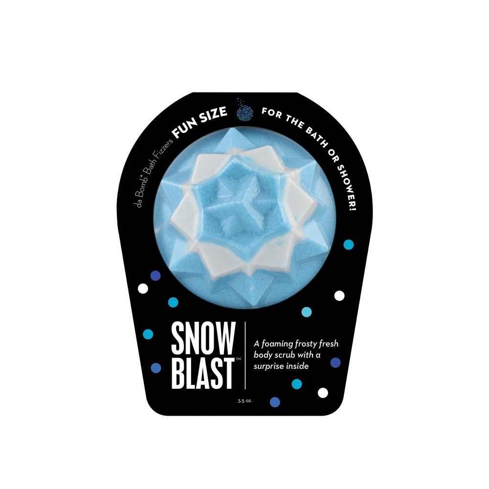 Da Bomb Bath Fizzers Snow Blast Bath Soaks - 3.5oz
