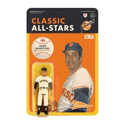 "MLB San Francisco Giants 3.75"" Classic ReAction Action Figure - Juan Marichal"