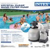 Intex Krystal Clear 3000 GPH Above Ground Pool Sand Filter Pump and Wall Skimmer - image 4 of 4