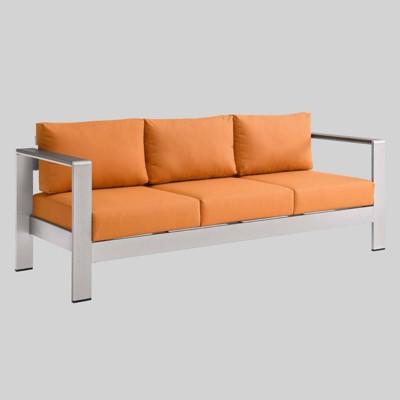 Shore Outdoor Patio Aluminum Sofa - Modway