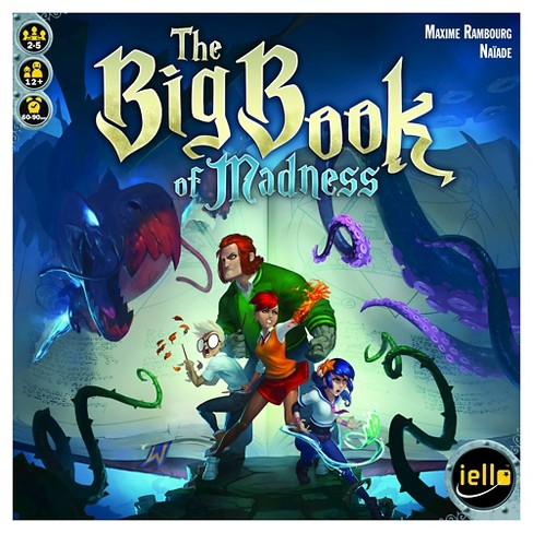 The Big Book of Madness Board Game - image 1 of 1