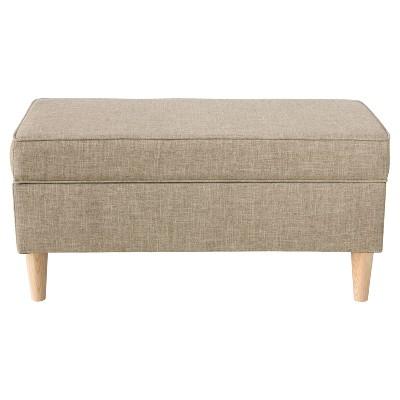 Attirant Jaxson Storage Bench   Zuma Linen   Skyline Furniture®
