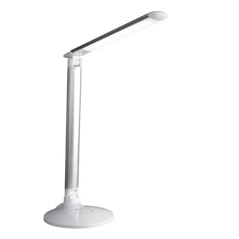 Command Desk Lamp Voice USB (Includes LED Light Bulb) White - OttLite - image 1 of 4