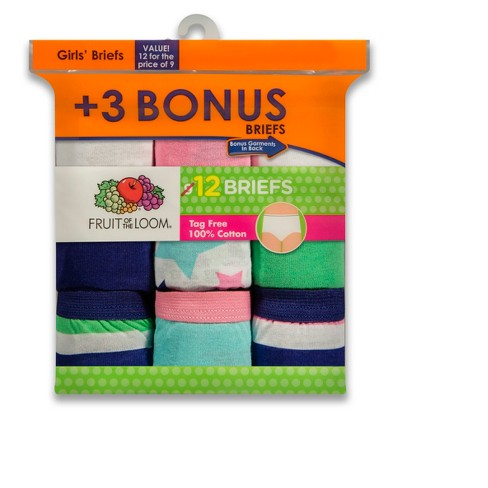 054c369a919a Fruit of the Loom Girls' Classic Briefs : Target