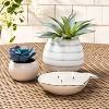 6oz Ceramic Fish Candle White - Opalhouse™ - image 2 of 3