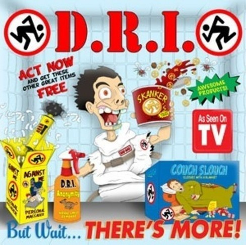 D.R.I. - But wait there's more (CD) - image 1 of 1