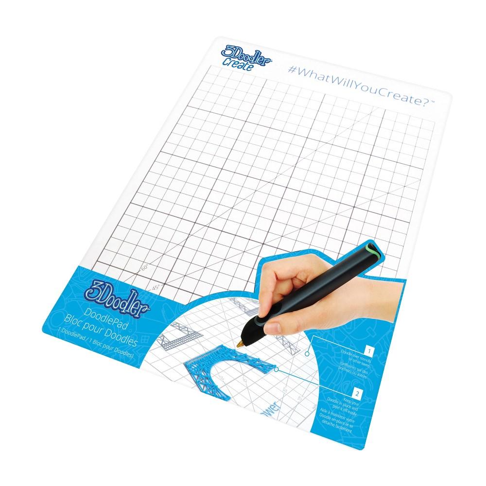 Image of 3Doodler DoodlePad for 3Doodler Create Printing Pen, White