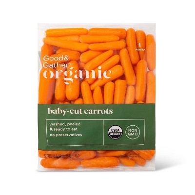 Organic Baby-Cut Carrots - 1lb - Good & Gather™