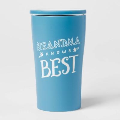 10oz Stoneware Grandma Knows Best Tumbler - Opalhouse™