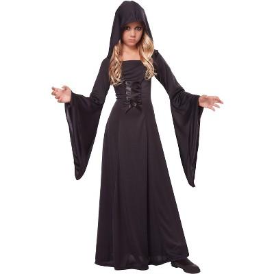 California Costumes Hooded Robe Child Costume (Black)