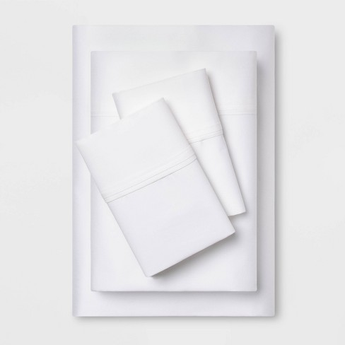 Performance Sheet Set Solids 400 Thread Count - Threshold™ - image 1 of 4