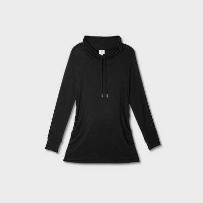 Maternity Sweatshirt - Isabel Maternity by Ingrid & Isabel™ Black XXL