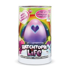 """Hatchimals Hatchtopia Life 2"""" Plush Blind Pack with Interactive Game"""