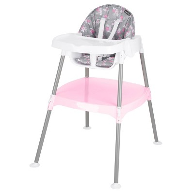 Evenflo 4-in-1 Eat and Grow Convertible High Chair - Poppy