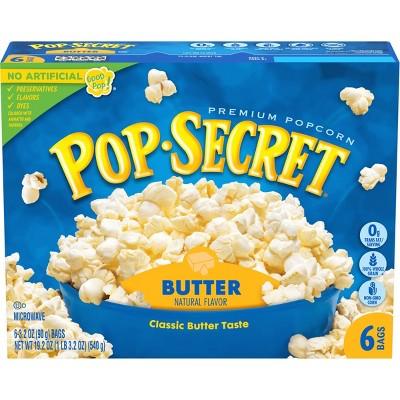 Pop Secret Butter Microwave Popcorn - 6ct