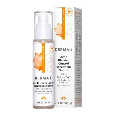 Derma E Acne Blemish Control Treatment Serum - 2 fl oz