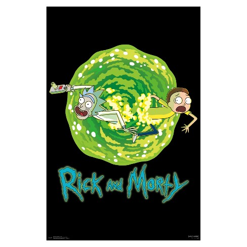Rick and Morty Portal Poster 34x22 - Trends International - image 1 of 2