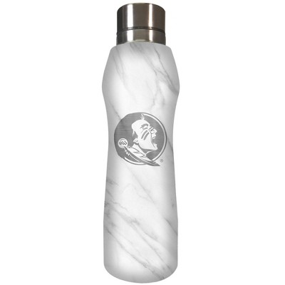 NCAA Florida State Seminoles 20oz Marble Curve Stainless Steel Water Bottle