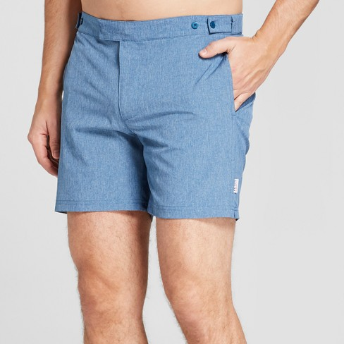 "IBIZA Ocean Club Men's 6"" Recreational Swim Trunk - Blue - image 1 of 3"
